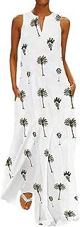 Maxi Dress For Women, Limsea Women Print / Loose Party Dress