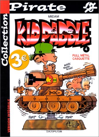 BD Pirate : Kid Paddle, tome 4 : Full metal casquette