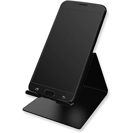 DIGITEK® DSS 001 Mobile Phone Stand/Holder | for Perfect Viewing Horizonal Or Vertical | for Smartphones, Tablets Upto 10 Inch (Black) (DSS-001)