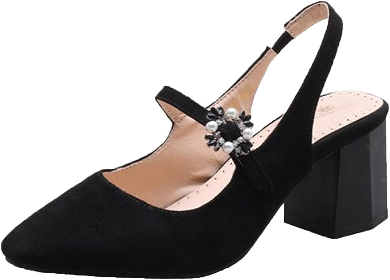 FANIMILA Women Mary Jane Sandals shoes Slingback