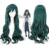 Photo de Shimoneta To Iu Gainen Ga Sonzai Shinai Taikutsu Na Sekai Fuwa Hyouka longues bouclés ondulés Cosplay perruques pour femmes Anime fête vert par