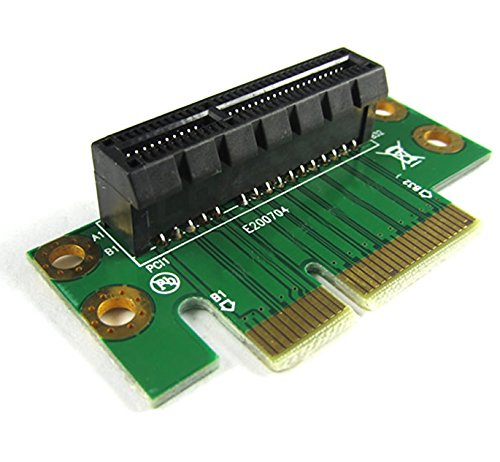 3 Units - PCI Express (PCI-E) 4X Adapter Riser Card 90 Degree For 1U/2U Server Chassis