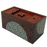Secret Box Winter. Rompecabezas de Madera. Caja de Seguridad. Apertura Secreta.