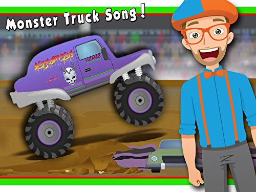 Monster Truck Song by Blippi - Monster Trucks for Children