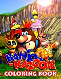 Banjo-Kazooie Coloring Book: One Of The Greatest Way To Relax And Boost Creativity With Awesome Coloring Book