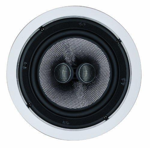 Magnat Interior IC 82 | High End Lautsprecher für Einbau | Speaker 1x200mm Woofer, 2x19mm Tweeter für Dolby Atmos | Karbon-Glasfaser-Membran