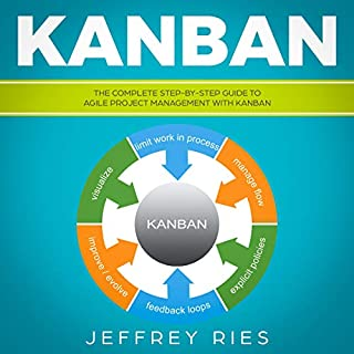 Kanban: The Complete Step-by-Step Guide to Agile Project Management with Kanban  audiobook cover art