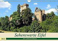 Sehenswerte Eifel - Die schoensten Burgen (Wandkalender 2022 DIN A4 quer): Die Eifel ist das Land der Burgen. (Monatskalender, 14 Seiten )