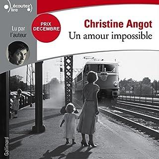 Couverture de Un amour impossible