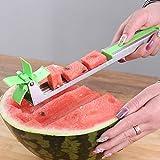 LYLSXY Taglia-anguria Affettatrice multi-melone, tagliatrice Utensile da cucina per manufatti domestici in acciaio inossidabile a/Verde/Come mostrato