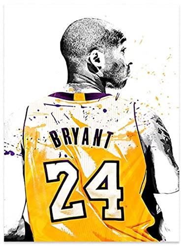 TTbaoz JigsawPuzzle 1000 Piezas NBA Basketball Star Kobe Bryant Posters Juguetes para Adultos compssion (38 * 26cm)