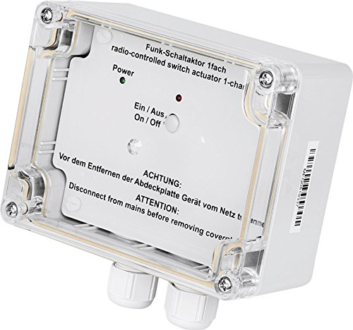 HomeMatic Funk-Schaltaktor 1-fach, Aufputzmontage