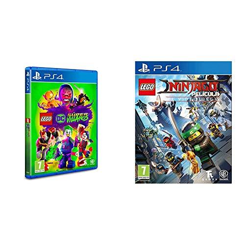 Lego DC Super-Villanos PlayStation 4, Edición Estándar + Ninjago