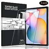 A-VIDET Panzerglas für Samsung Galaxy Tab S6 Lite(Modell 2020, 10.4 Zoll), 9H Festigkeit Schutzfolie Anti-Kratzer/Bläschen/Fingerabdruck/Staub Bildschirmfolie Panzerglasfolie für Galaxy Tab S6 Lite (2 Stück)
