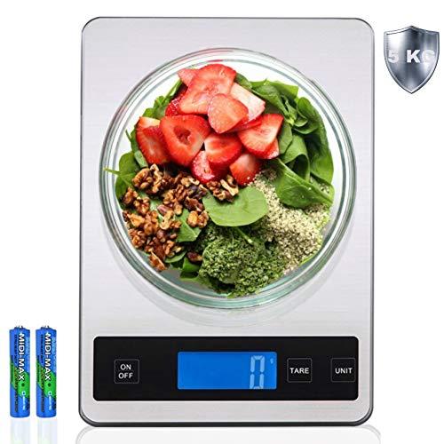SD Food Scale for Weight Loss, Weight Watchers Food Scale Measuring in Grams and Ounces, Digital Scale .01 Gram Accuracy, Balanza De Cocina, Bascula Digital De Cocina, Pesa para Alimentos