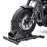 Motorcycle Wheel Chock/Front Rear Stand Constands Easy Vario adjustable black