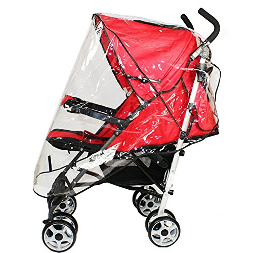 norbi universal Baby Weather Dust Shield carriola lluvia Canopy impermeable