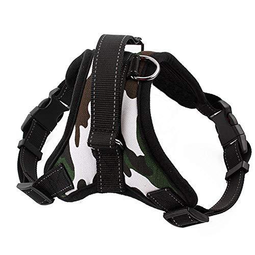 Cinturón de seguridad reflectante duradero para perros y perros con cinturón de seguridad ajustable y grande para mascotas