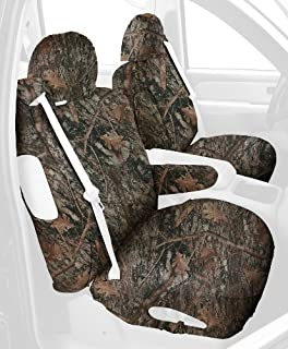 Covercraft SS3245TTCB Custom-Fit Front Bucket SeatSaver Seat Covers - Polyester Fabric, Conceal Brown