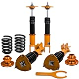 maXpeedingrods 24 Ways Adjustable Damper Coilovers for Nissan Altima Sedan L32A 2007-2015 /Coupe D32 2008-2015 for Maxima A35 2009-2015 Spring Struts Suspension Adjusatable Height