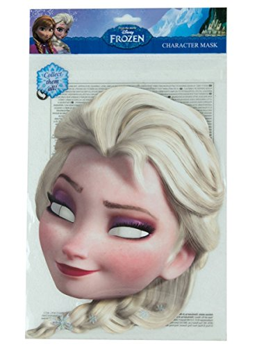 Generique - Masque Carton Elsa La Reine des Neiges