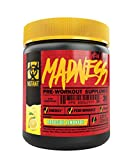 Mutant Madness - Redefines the Pre-Workout Experience and Takes it to a Whole New Extreme Level, Engineered Exclusively for High Intensity Workouts, 225g – Roadside Lemonade