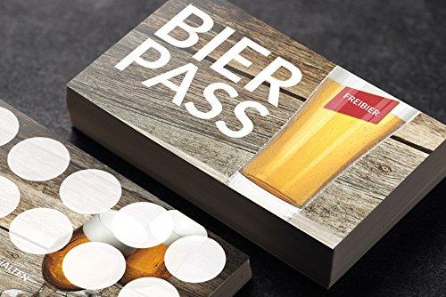 Premium Bierpass Bonuskarte optional mit Stempel (100 Stück)