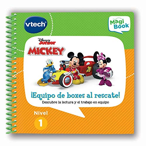 Vtech- Mickey Equipo de Boxes al Rescate Libro para Magibook, Multicolor (80-481722)