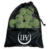 LFY Luminary for you Pelotas de tenis 15 unidades, incluye bolsa de transporte de malla, perfectas para el entrenamiento, clases de tenis, juegos de ocio o como juguete para perros.