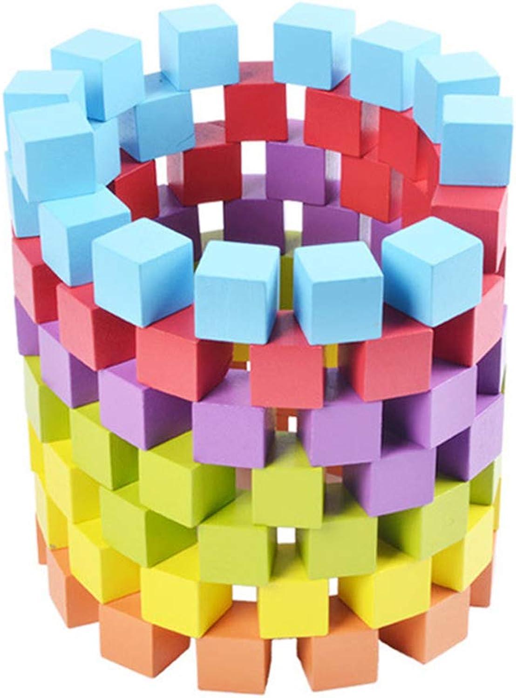 Hanbaili Hölzerner Würfel-Arithmetikwürfel-Spielzeug dauerhaftes 100pcs Mehrfarbendesktop-Anfangsvermögen B07M7N8N4Y Produktqualität     | Schöne Kunst