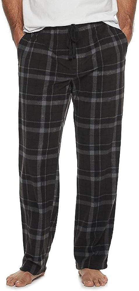 Croft & Barrow Big and Tall Men's Fleece Lounge Pants