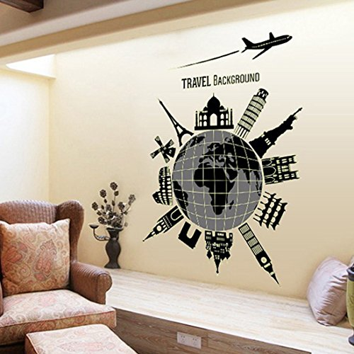 Fashionbeautybuy - Adesivo da parete in PVC, rimovibile, per soggiorno, camera da letto, cucina, decorazione artistica in PVC, ideale come decorazione per porte e finestre, con rana 3D