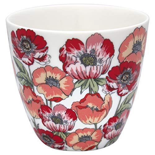 GreenGate - Tasse, Latte Cup - Aria - White - Porzellan - 300 ml