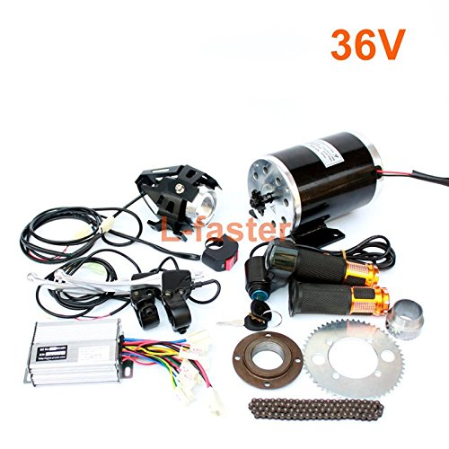 L-faster 1000W Electric Motorcycle Motor Kit Changing Gas ATV to Electric ATV DIY Electric 4-Wheel Child Vehicle Electric Scooter Engine (36V Twist kit)