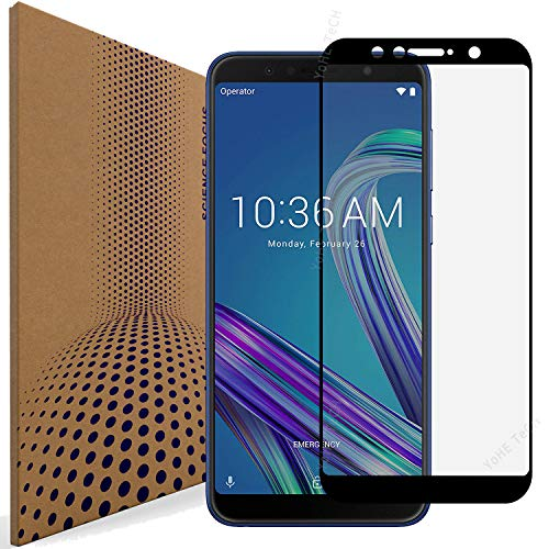VLP Pack of 2 Compatible with Asus Zenfone Max Pro M1 ZB601KL ZB602KL Glass Screen Protector, Super Clarity Anti Scratch Fingerprint Resistant Tempered Glass Screen Protectors for ZB601KL ZB602KL