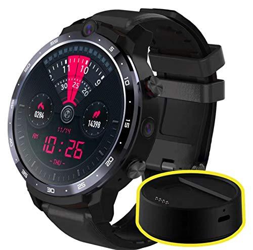 Sutinna SmartWatch Pro, 4G 64G Pantalla LCD de 1.6 Pulgadas Smart Watch Avanzada, con energía móvil, reconocimiento Facial, cámara Dual de 500 vatios, proyección inalámbrica, Equipada con Android