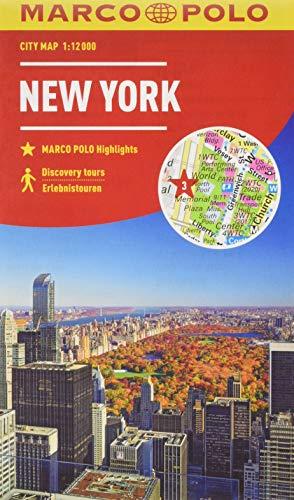 MARCO POLO Cityplan New York 1:12 000 (MARCO POLO Citypläne)