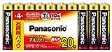 パナソニック アルカリ乾電池単4 LR03XJ/20SW 1パック(20本)
