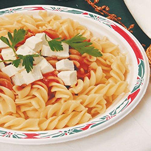 Lasagna con masa verde y almendras