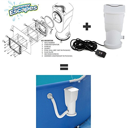 Summer Waves Summer Escapes to Pump Conversion Kit