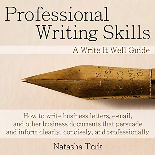 Professional Writing Skills audiobook cover art