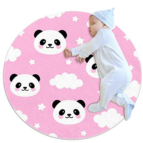 Learn More About Cute Panda Animal Baby Game mat Cotton Floor Gym - Non Toxic, Non Slip and Washable...