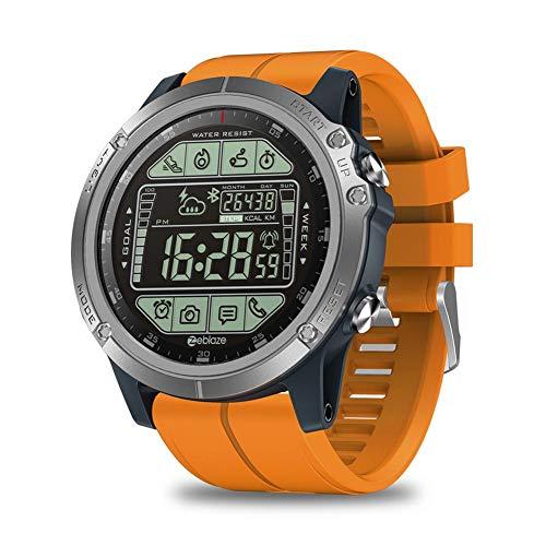 Adminitto88 Smartwatch da Uomo Zeblaze Vibe 3S Sports 50M Smartwatch Impermeabile 5ATM Passaggi Meteo in Tempo Reale Calorie Fitness Tracker per iOS Android masterwork