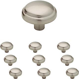 """مقبض خزانة مطبخ Franklin Brass P13545K-SN-B 1-1/8"""" (30م) مقبض خزانة مطبخ، نيكل ساتان، 10 قطع"""