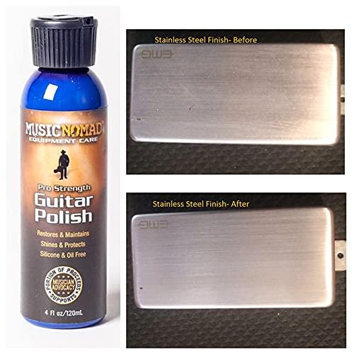 MusicNomad MN101 Premium Pro-Strength Guitar Polish, 4 oz