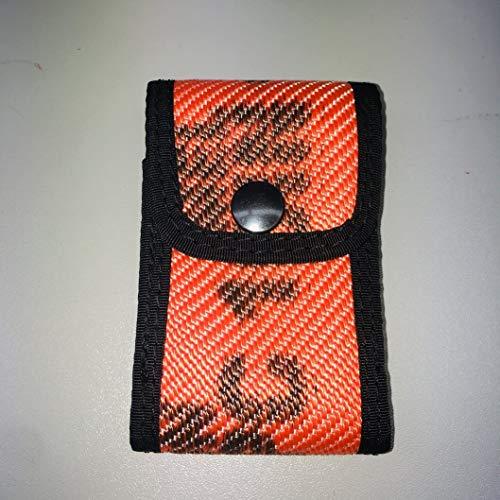 Roter Hahn 112 Feuerwehr DME Holster Piepser Tasche Melder Funkmeldeempfänger/Schlauch ORANGE/Original