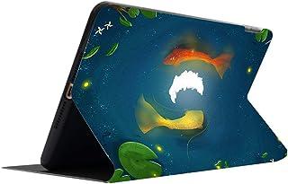 iPad9.7インチ2017/2018ケース iPad10.5インチケース iPad第五世代ケース iPad第6世代ケース iPadプロ11ケース iPadAir3ケース iPadAir2ケース iPadAir1ケース iPadairケース iPadmini123ケース iPadmini4ケース iPadmini5ケース iPadmini第五世代ケース iPadmini第四世代ケース 二つ折り 衝撃吸収 傷防止 軽量 スタンド機能 オートスリープ機能 背面透明 保護ケース タブレットケース アイパッドケース 鯉のぼり 和風 錦鯉 可愛い 若者 女の子 (iPad Air2, B)