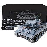 Trueornot 1:16 RC Serbatoio 2.4G Telecomando Militare Serbatoio Giocattolo Metallo Tedesco Tigre Pesante Modello con Suono Fumo Shooting Effetto