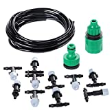 starnearby Micro-sprinklers Spray Water Cooling Moisturizer Water irrigation Kit Set