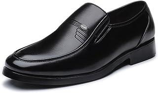Oxfords clásicos para Hombre Mocasines para Hombres, Mocasines, Forro Sole Soft, Zapatos Grandes Oxford (Color : Black, Si...